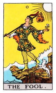 Fool Tarot Cards