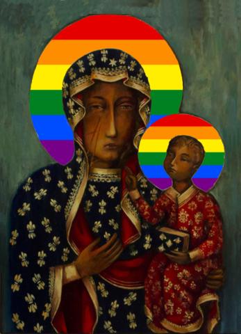 Virgin Mary LGBTQ