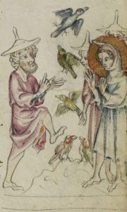 Jesus and his mud birds